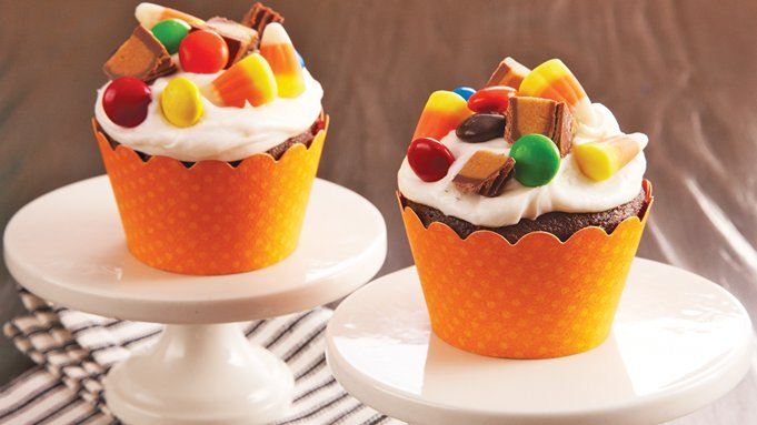 Halloween Candy Cupcakes Recipe From Tablespoon