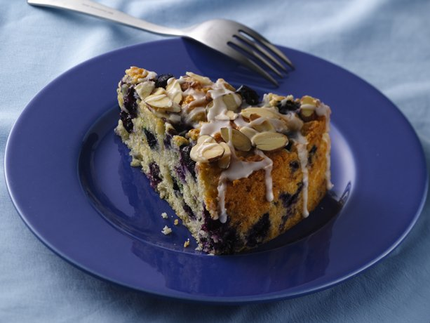 And Delicious Homemade Coffee Cake Loaded With Fresh Blueberries