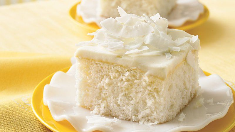 White Cake With White Chocolate Pudding Mix
