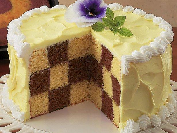 Chocolate Checkerboard Cake Recipe From Betty Crocker