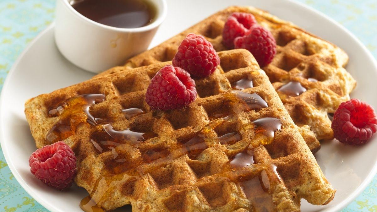 how to make buttermilk waffles from scratch