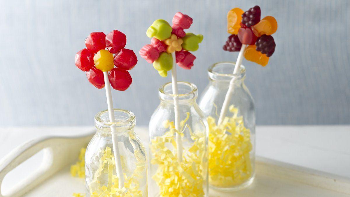 Fruit Flavoured Snack Flower Pop