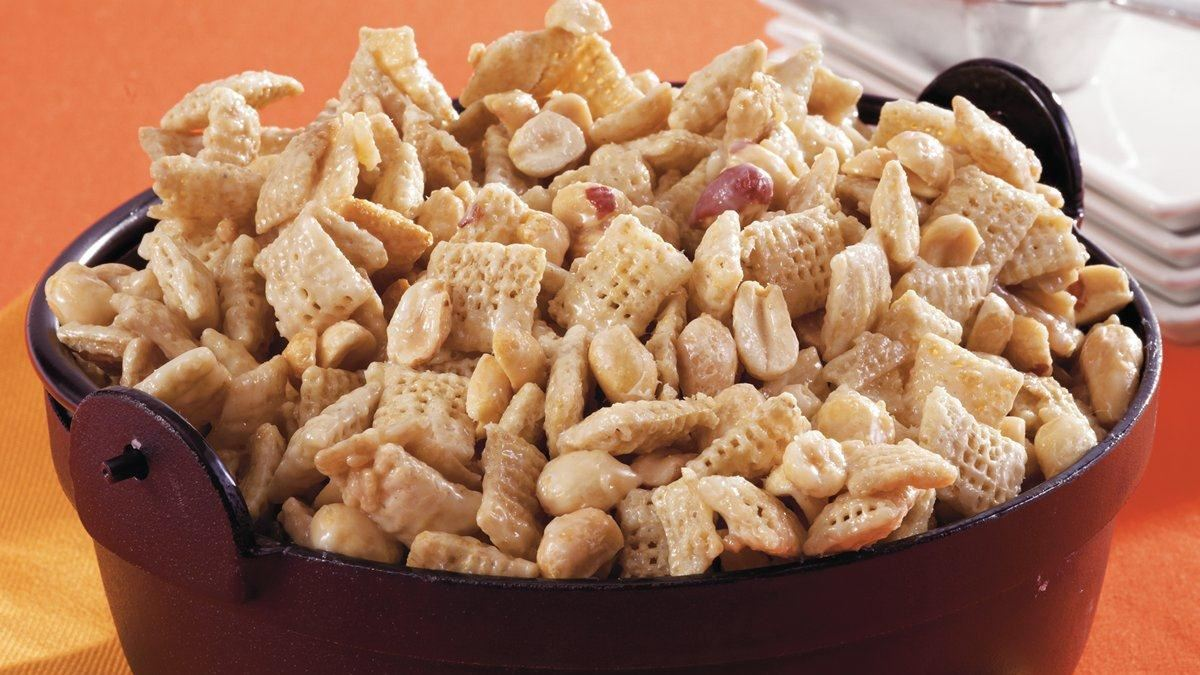 Purely Peanuts Chex* Mix Recipe (Gluten Free)