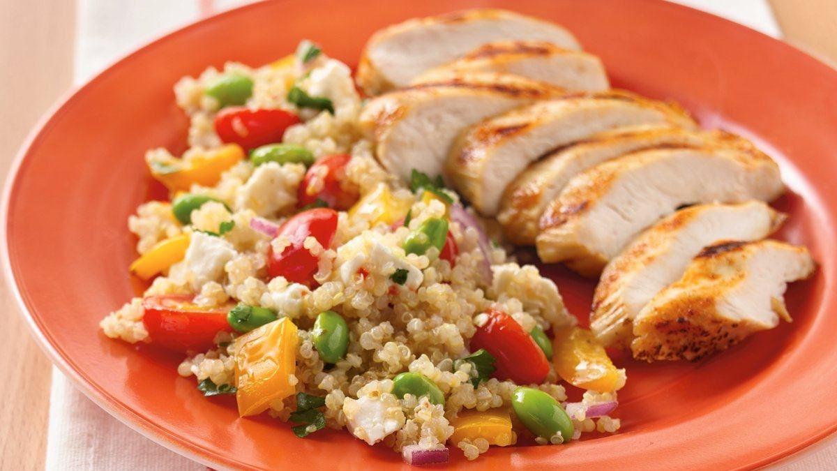 Confetti Quinoa Salad Recipe (Gluten Free)