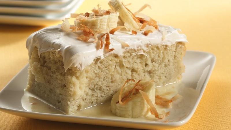Banana Tres Leches Dessert Recipe From Betty Crocker