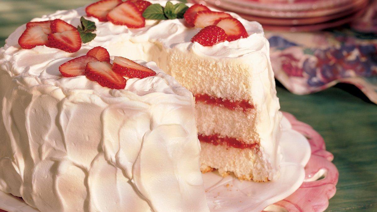 Angel Food Cake Recette