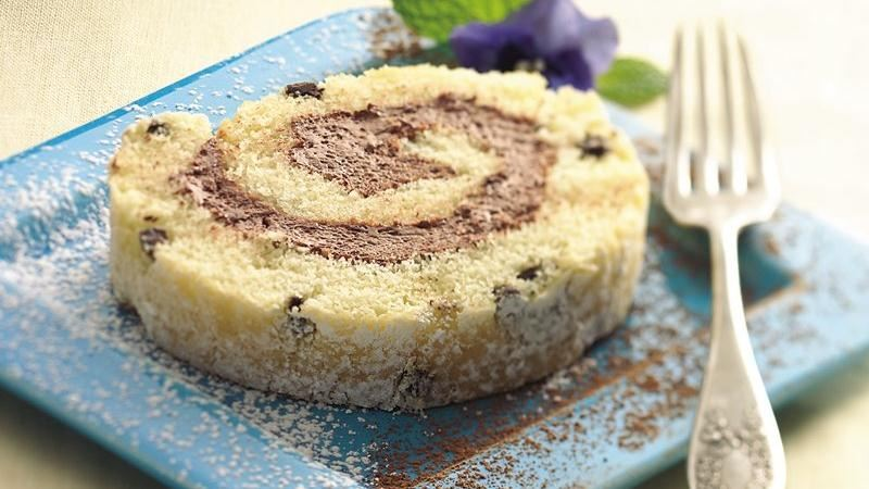 Cake Mix Jelly Roll Recipe: Chocolate-Filled Cake Roll Recipe From Betty Crocker
