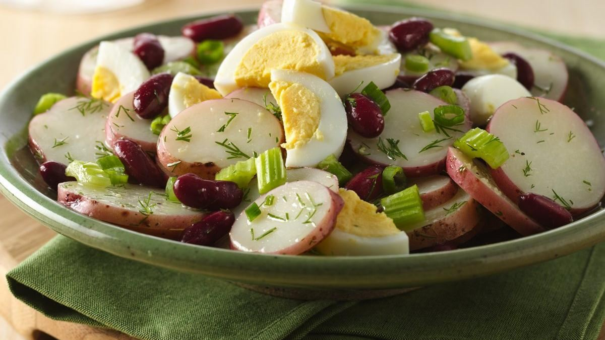 Dilled Potato-Bean Salad