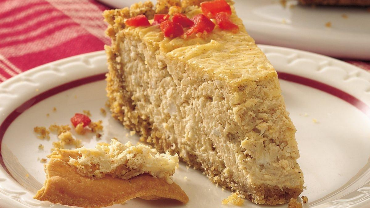 Cajun Crab Cheesecake
