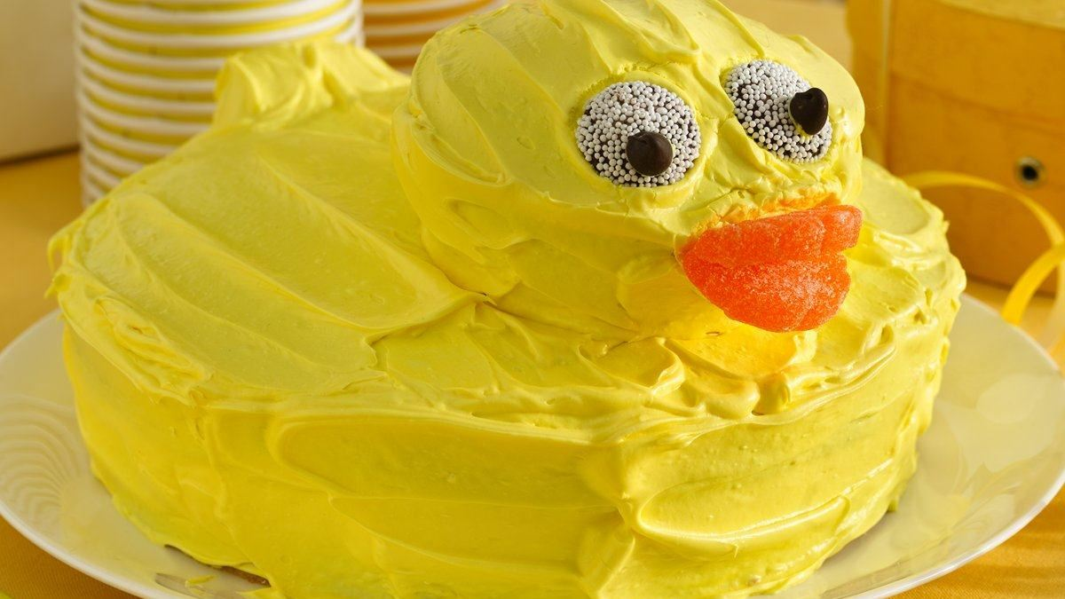 Rubber-Ducky Cake