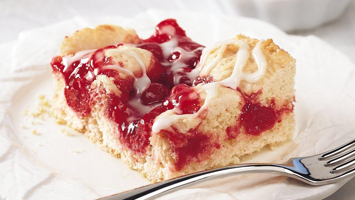 Bisquick Coffee Cake With Cherry Pie Filling
