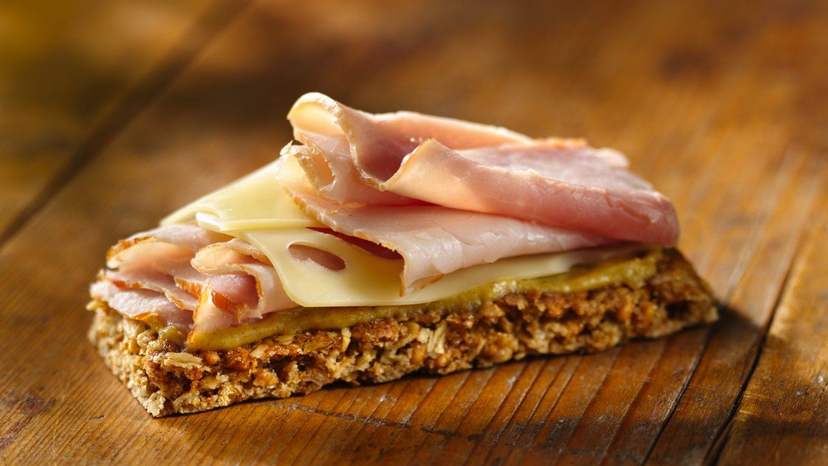 Ham and Cheese On The Go Bars