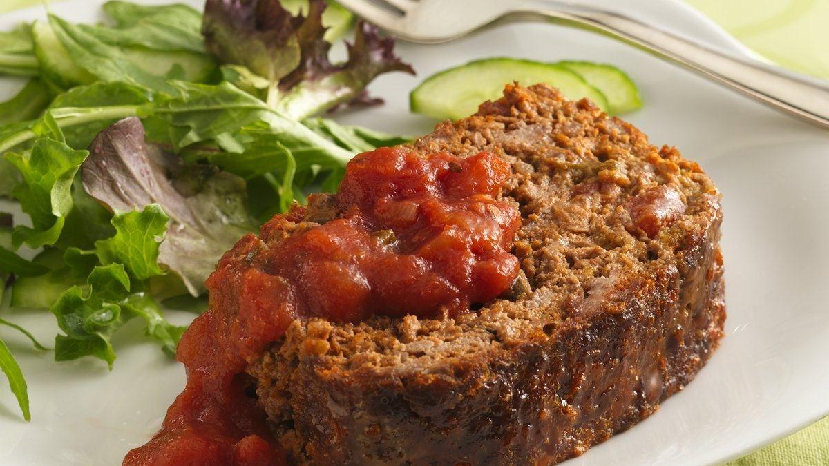 Pain de viande à la salsa