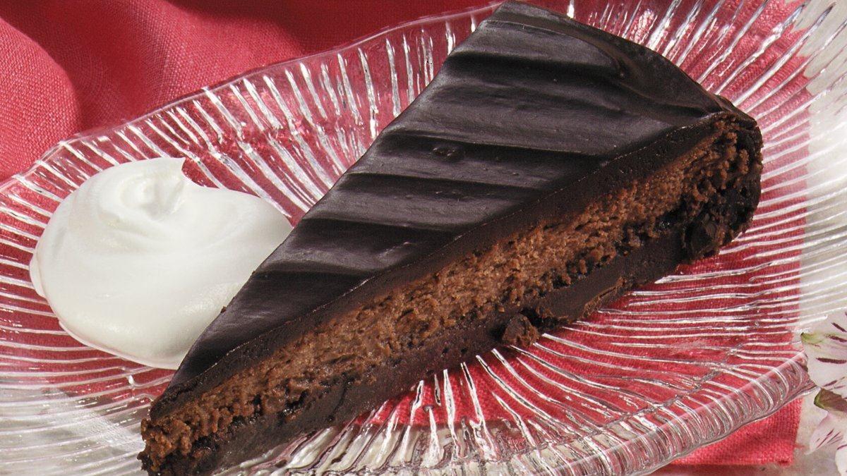 Torte au chocolat décadente