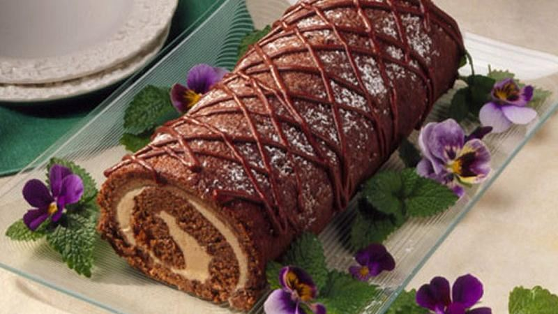 Jelly Roll Recipe Using Cake Flour: Apple Butter Cake Roll Recipe From Betty Crocker