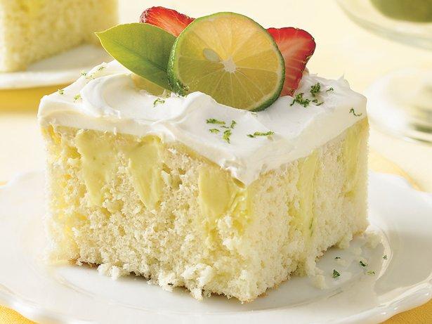 Box Key Lime Cake