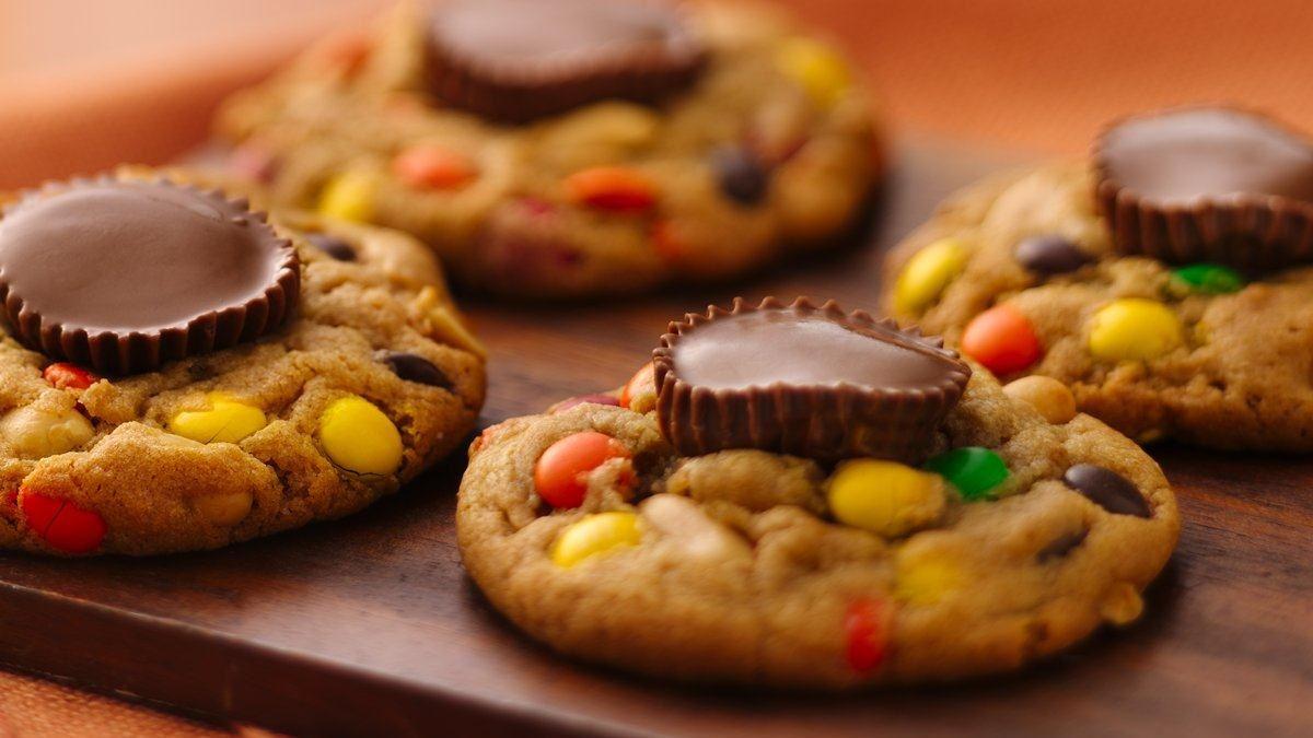 Biscuits aux moules au beurre d'arachide