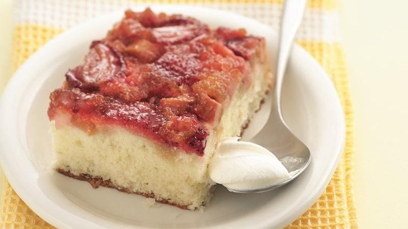 Easy Rhubarb Cake Mix Recipe