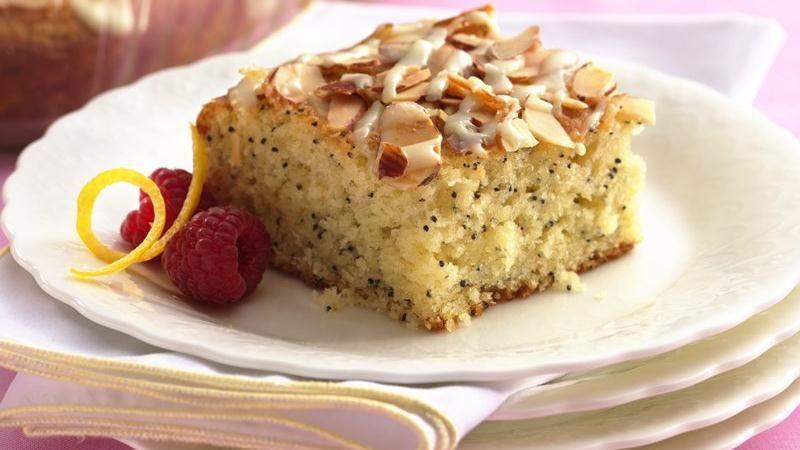 Betty Crocker Lemon Poppy Seed Coffee Cake