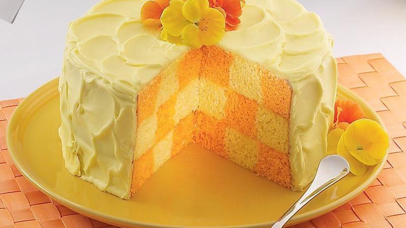 Party Checkerboard Cake Recipe From Betty Crocker