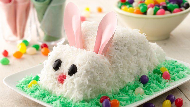 Easter Rabbit Cake Recipe