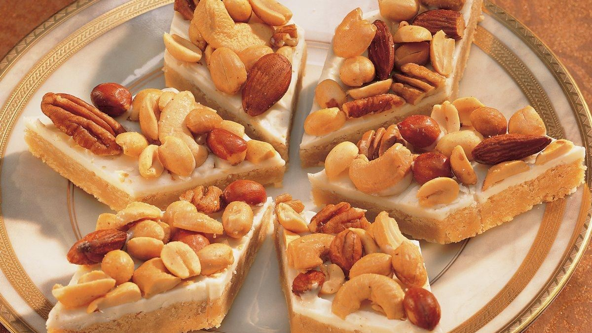 Nutty Noel Bars