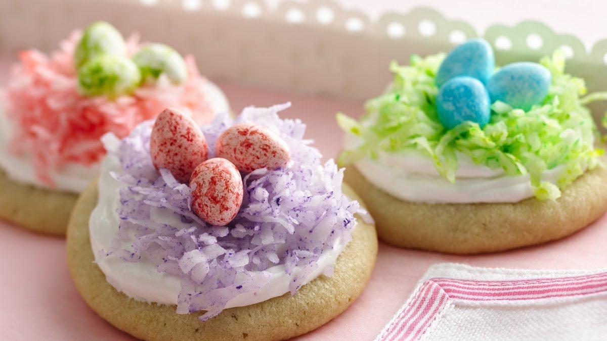 Biscuits nids de Pâques
