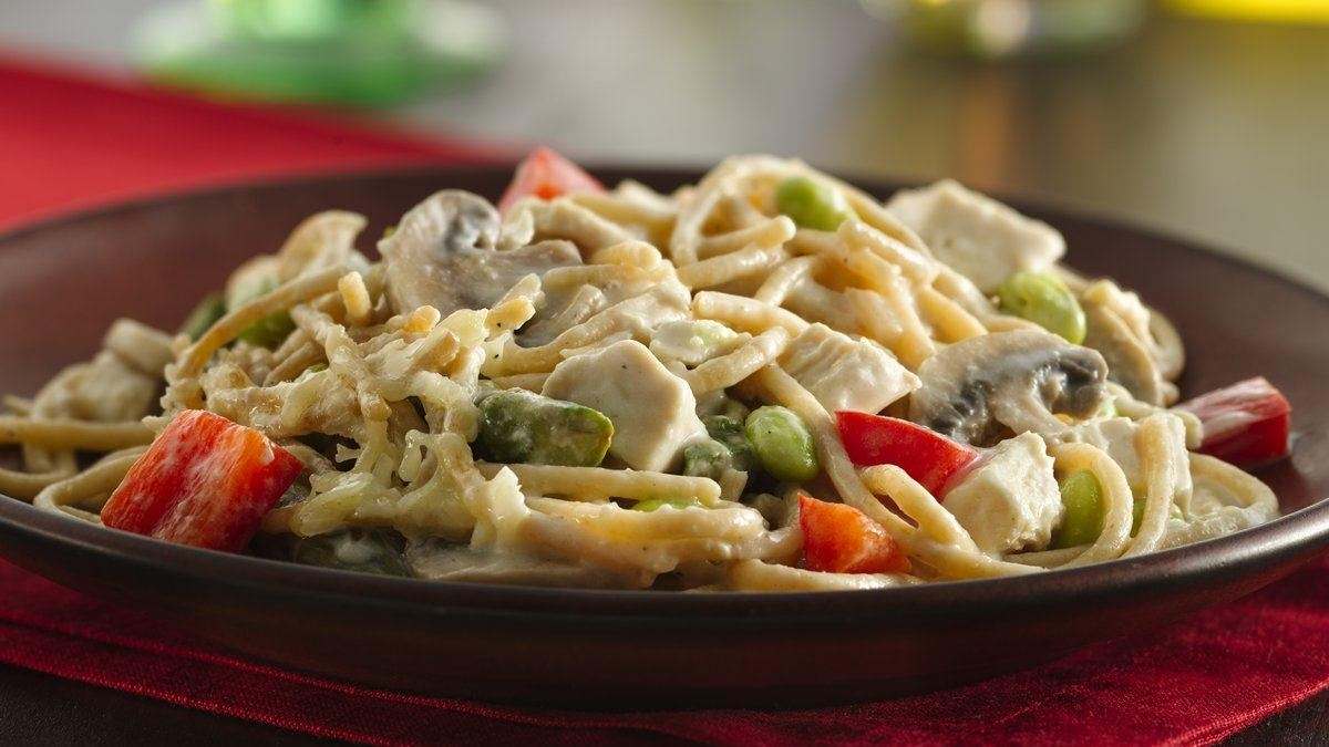 Chicken-Vegetable Tetrazzini