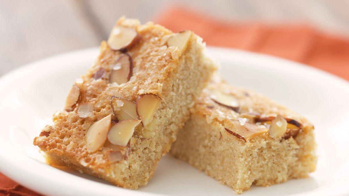 Mini Almond Butter Tea Cakes