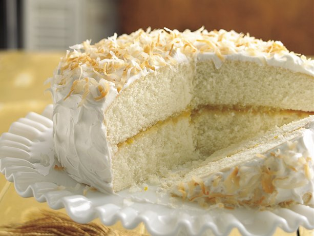 Image of Ambrosia Cake, Betty Crocker