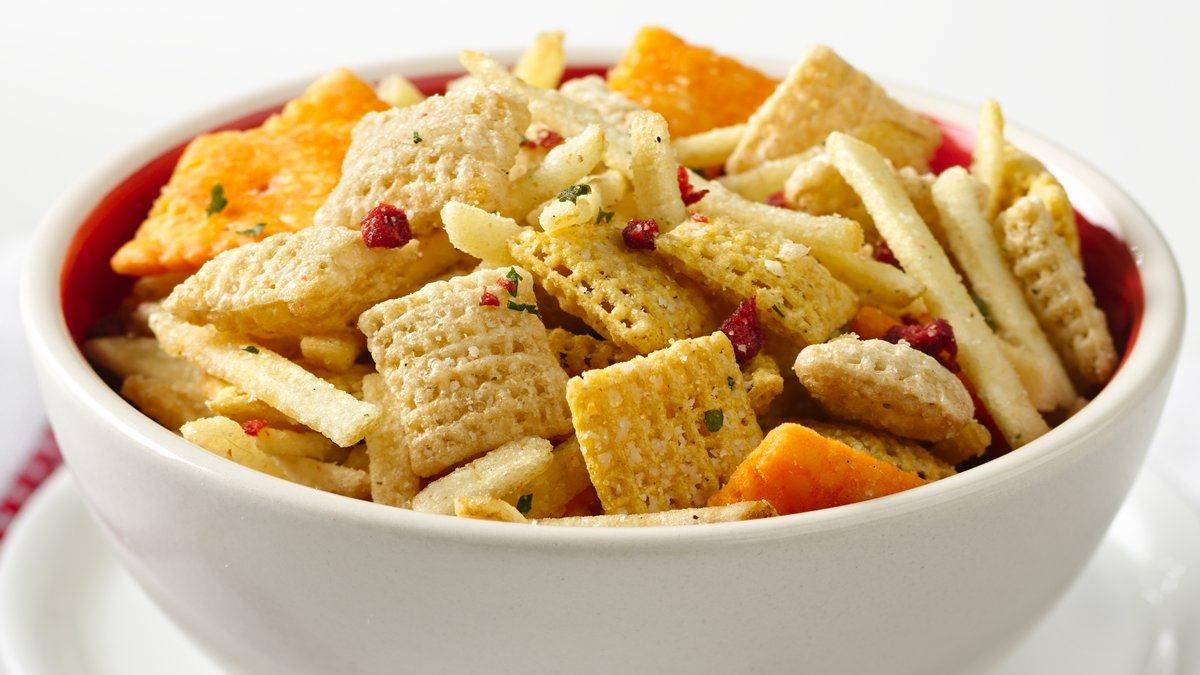 Loaded Baked Potato Chex* Mix
