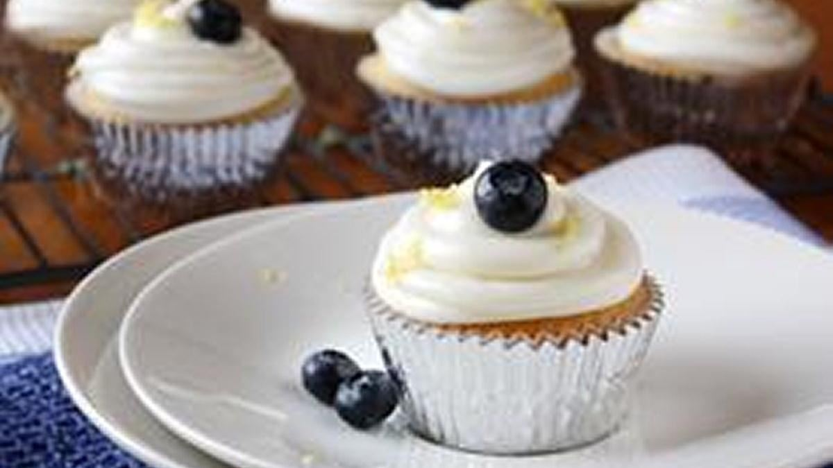 Lemon-Blueberry Cupcakes