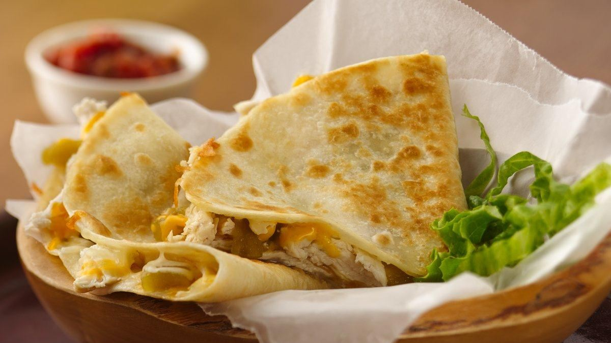 Chicken-Chili Quesadillas