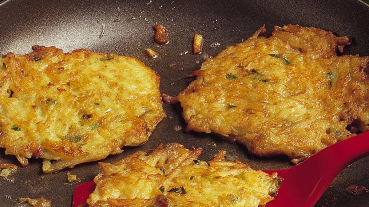 potato and vegetable pancakes