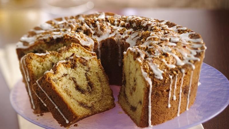 Classic Sour Cream Coffee Cake Recipe From Betty Crocker