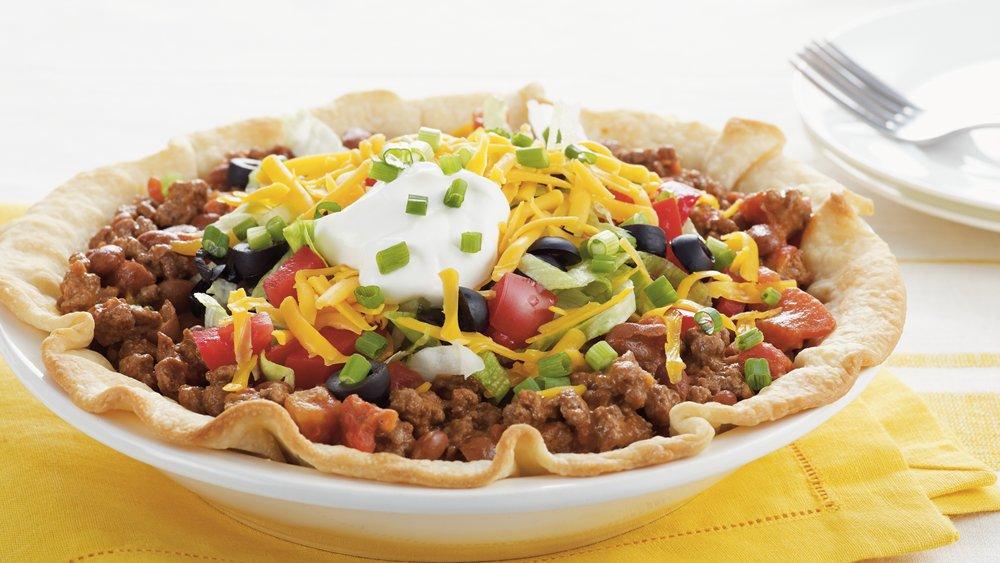 Taco Salad Pie Recipe From Pillsbury Com