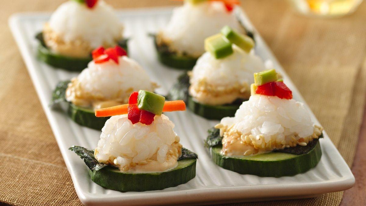 California Sushi Canapés