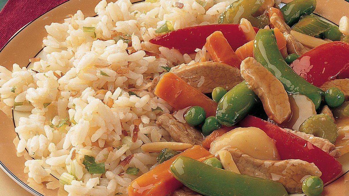 Coconut-Ginger Rice Recipe (Gluten Free)