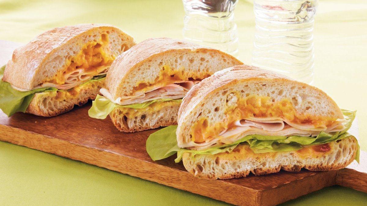 Apricot-Dijon Chicken Sandwiches