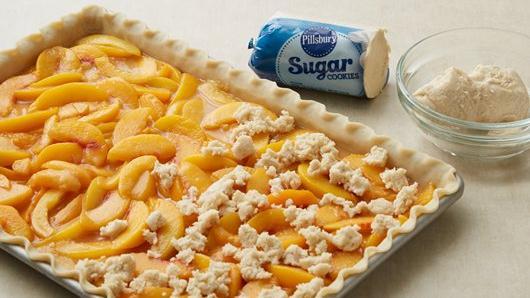 Peach Slab Pie Recipe From Pillsbury Com