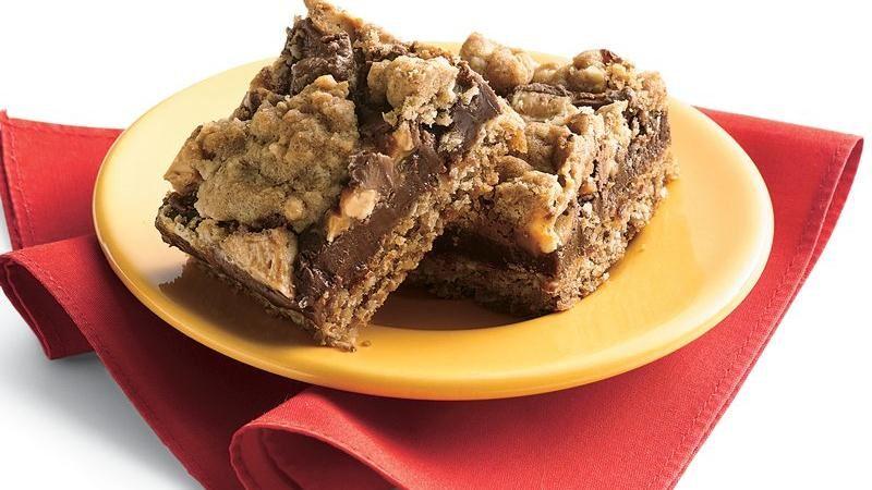 Candy Bar Fudge Jumbles Recipe From Betty Crocker