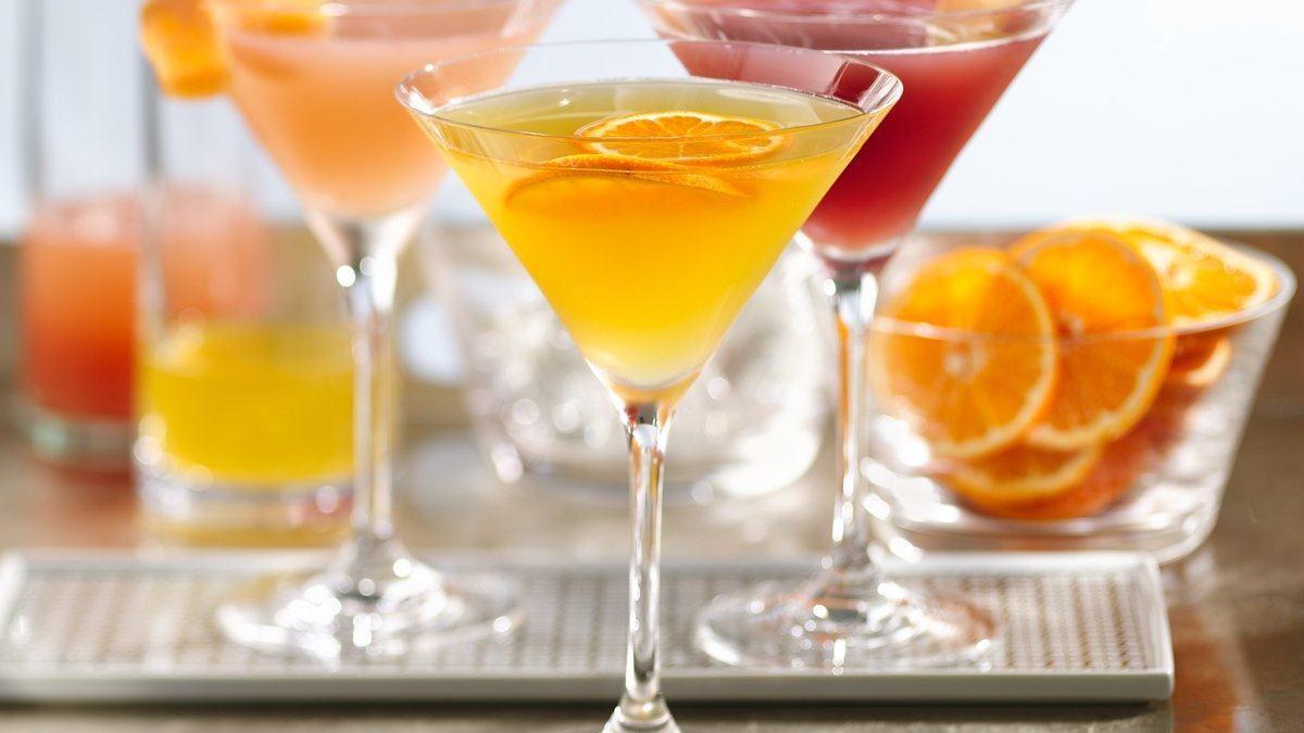 Martini léger à la clémentine