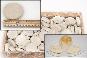 Biscuits, Southern Style, Dough 2.2oz IQF