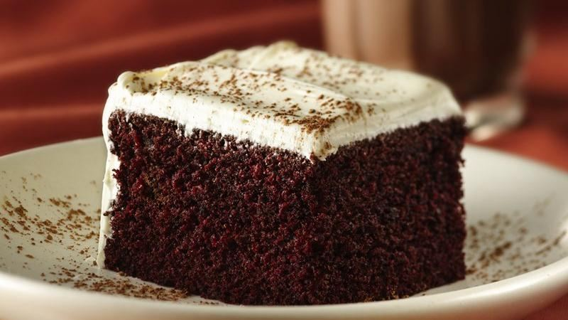 Duncan Hines Red Velvet Cake With Chocolate Pudding