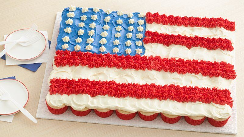 of July Chex Mix recipe by Betty Crocker Delicious of July Dessert Recipes) Its not the Fourth of July without red, white and blue everything. From dinner to desserts, and every appetizer in between, we have all the recipes you need for hosting the perfect patriotic party.