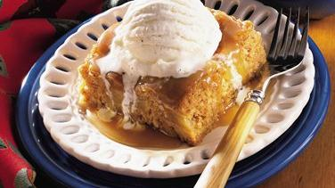 Apple Toaster Strudel Sundaes With Caramel Topping Recipe