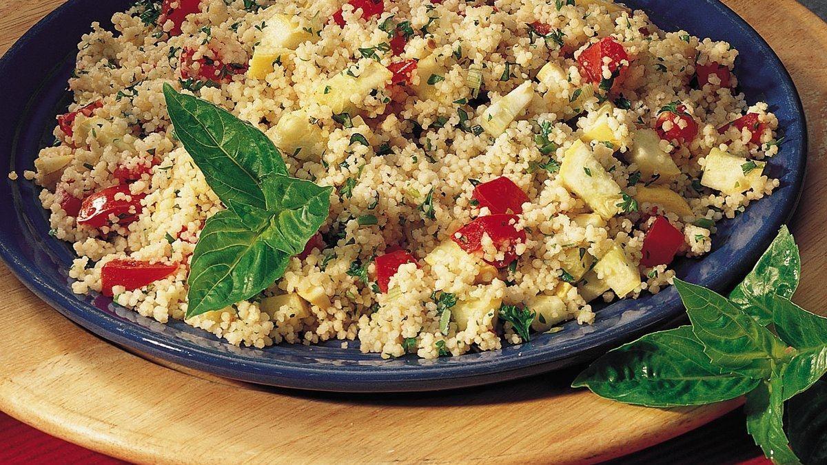 Mediterranean Couscous