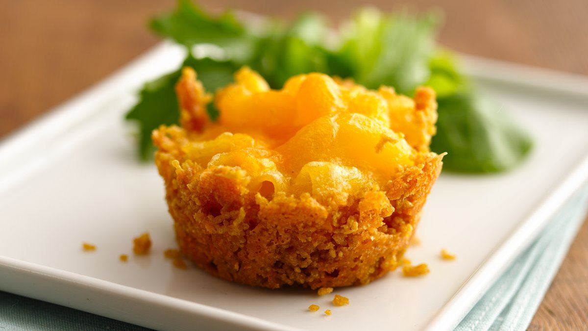 Mini Mac-and-Cheese Cakes Recipe (Gluten Free)