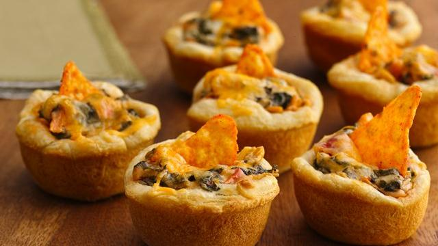 Mexican Appetizer Cups Recipe From Pillsbury Com