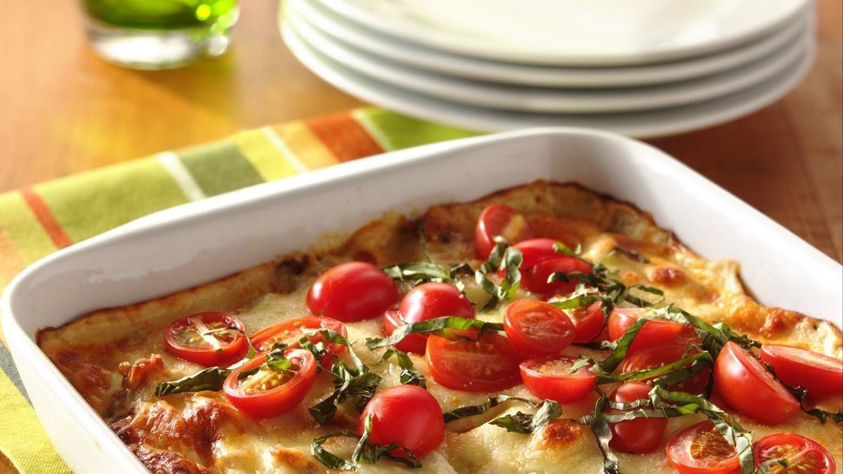 Plat de saucisses italiennes au fromage fondant